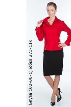 Блуза 102-06-01; юбка 273-11К