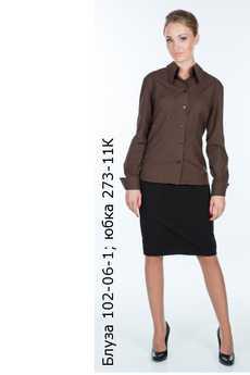Блуза 102-06-1; юбка 273-11К