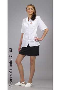 Блуза 4-01 юбка 71-03
