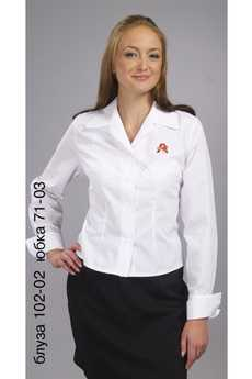 Блуза 102-02 юбка 71-03
