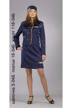 Шапочка 3-04Б; платье 18-04Б; жакет 118-04Б