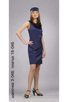 Шапочка 3-04Б; платье 18-04Б