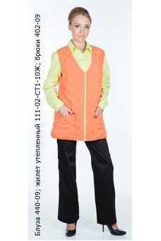 Блуза 440-09; жилет утепленный 111-02-СТ1-10Ж; брюки 402-09