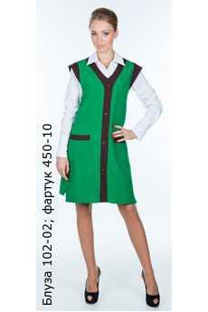 Блуза 102-02; фартук 450-10