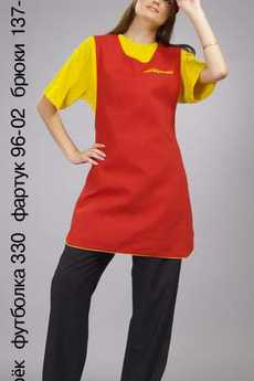 Козырек; футболка 330; фартук 96-02; брюки 137-05СТ
