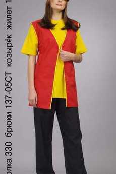 Футболка 330; брюки 137-05СТ; козырек; жилет 126-05