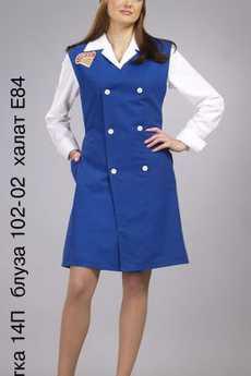 Пилотка 14П; блуза 102-02; халат Е84