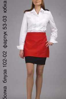 Футболка; блуза 102-02; фартук 53-03; юбка 71-03