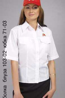 Бейсболка; блуза 103-02; юбка 71-03