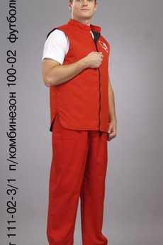 Жилет 111-02-3/1; футболка 330/1; п/комбинезон 100-02; футболка 330